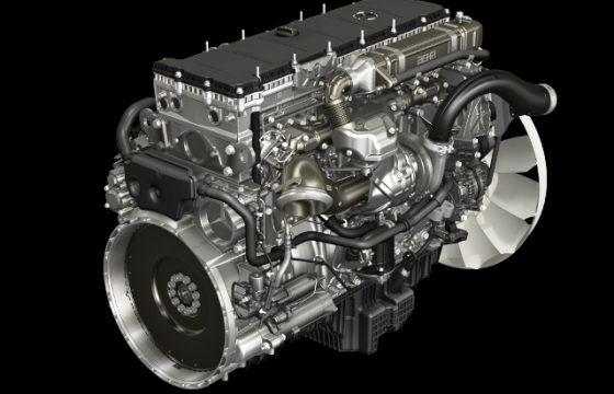 Nieuwe 10,7 liter van Mercedes-Benz