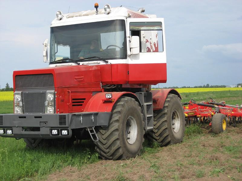 Magnum als landbouwtractor