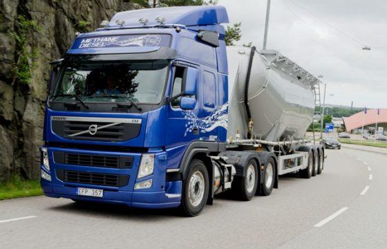 Volvo zet in op LNG-corridors