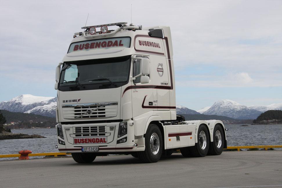 100 Volvo XXL's  in Noorwegen