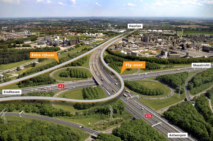 Werk A2 Limburg voorspoedig