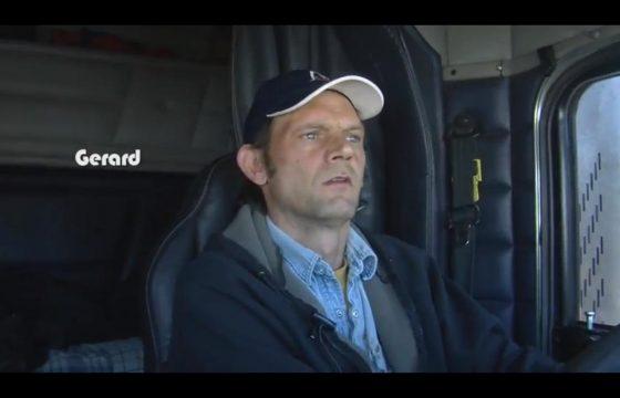 De chauffeur op de film
