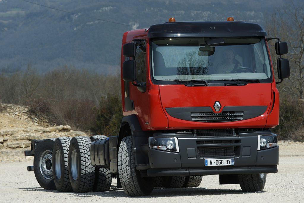 Slimme as op Renault Lander