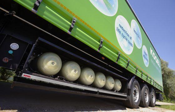 Kögel komt met CNG trailer