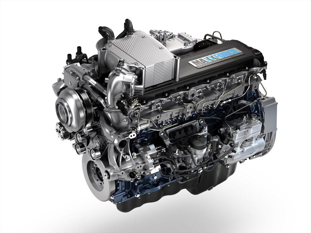 Truckmotoren-rel in VS