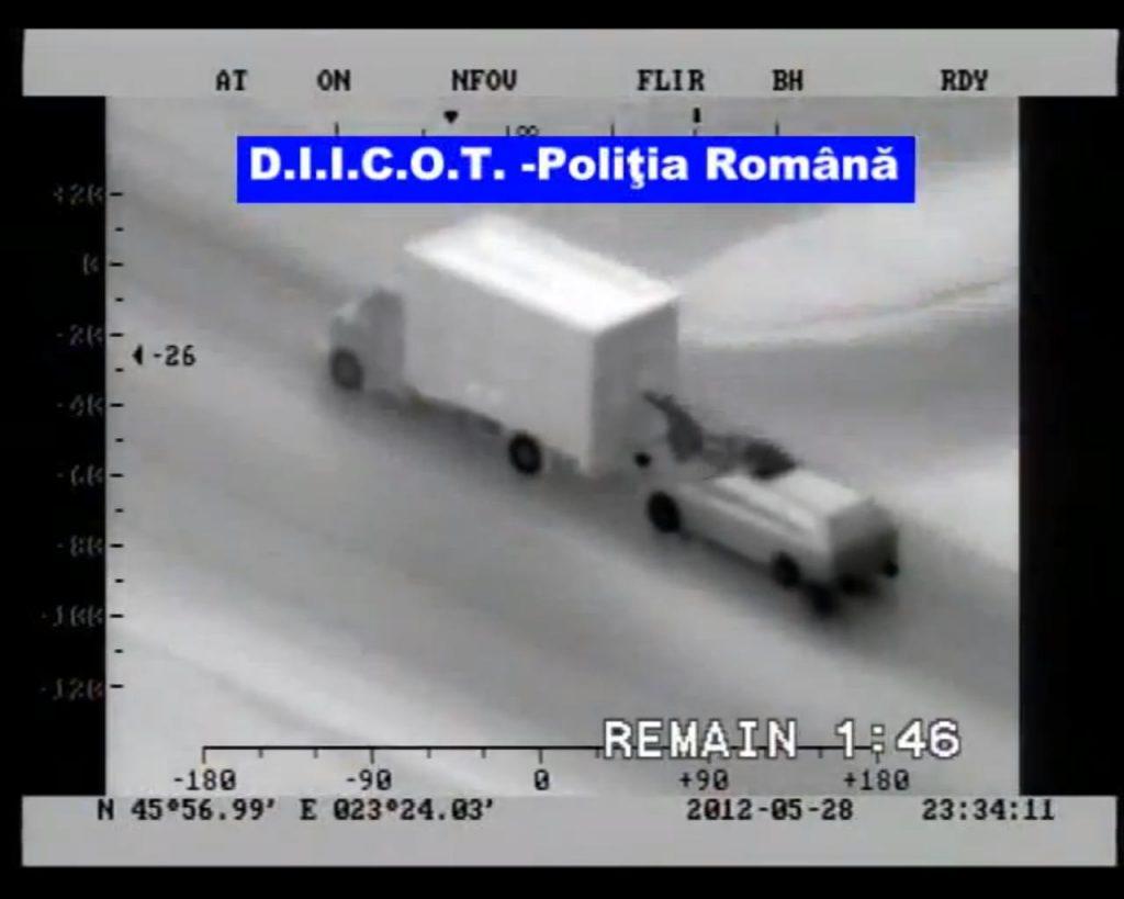 Roemeense ladingdieven-stunt