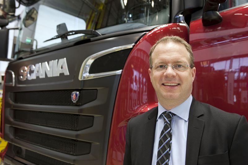 Nieuwe topman bij Scania