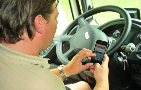 Smartphone app helpt bij zoektocht naar parkeerplaats