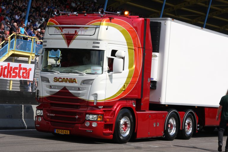 Michel Kramer heeft de mooiste truck!!