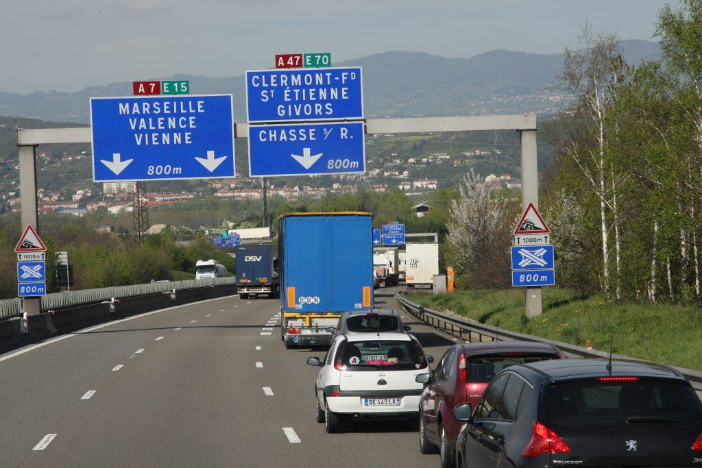 Zaterdagse rijverboden Frankrijk