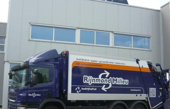 Start en stop Scania voor Rijnmond Milieu