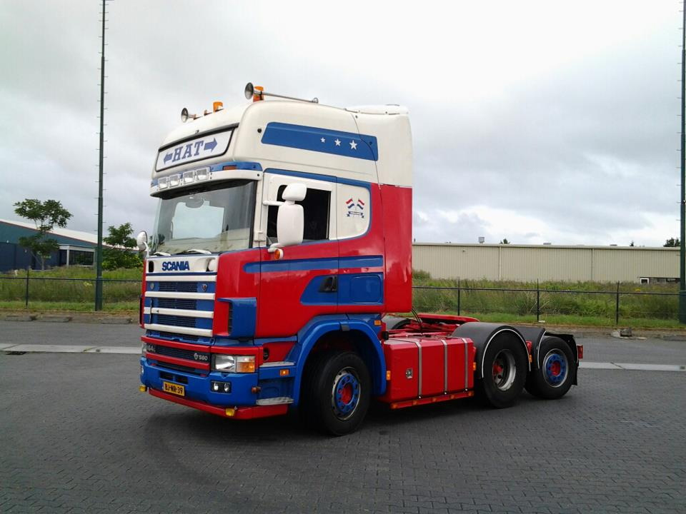 Speciale Scania voor de caravans!