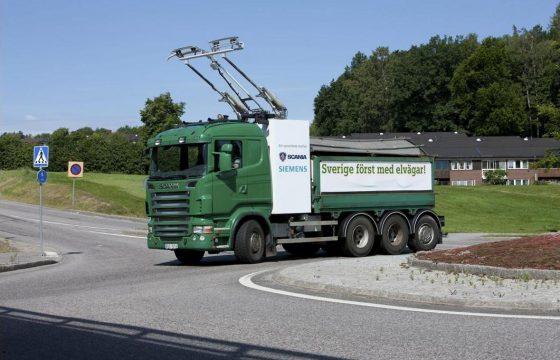 Trolley-, eh.. Scania