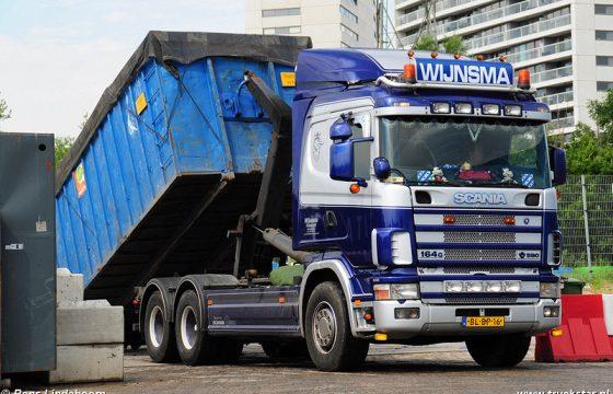 Scania 164 580 Wijnsma