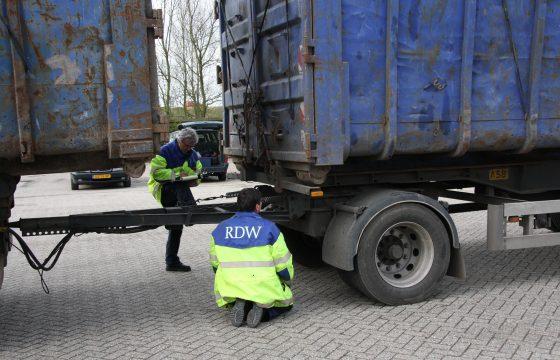 Boetes voor ADR-trucks