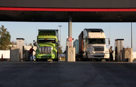 Diesel op recordprijs
