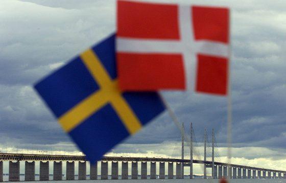 Protest tegen Zweedse 40 ton-regel