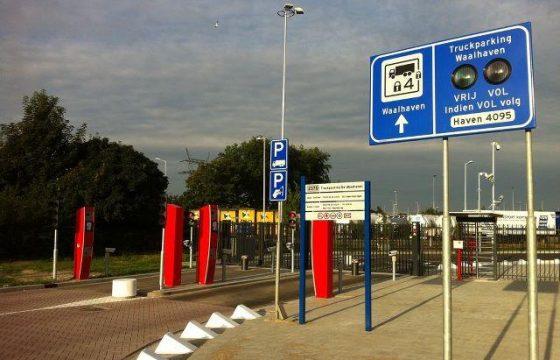 Truckparkings Rotterdam gaan open