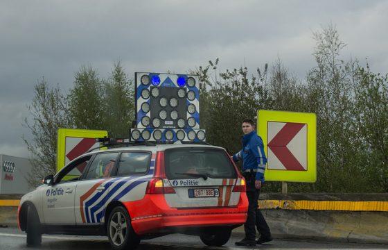 Belgische politie schiet op Oostblokker