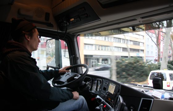 Chauffeurs somber over toekomst