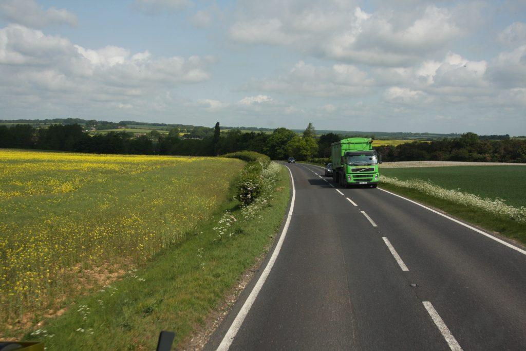 GB chauffeur boos om snelheidsverschil