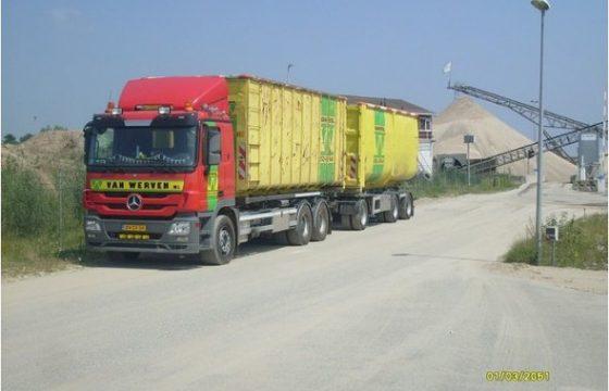 Afvalwerk Post naar Van Werven