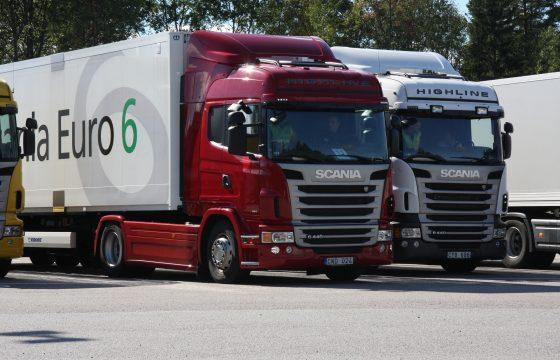 Truckverkopen in Europa dalen
