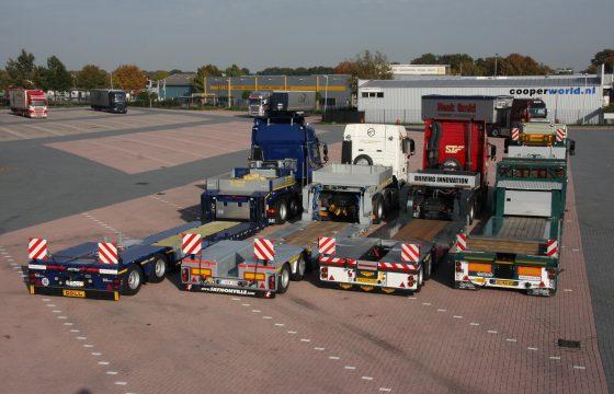 Truckstar test diepladers