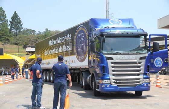 Winnaar Scania Driver Competition Brazilië
