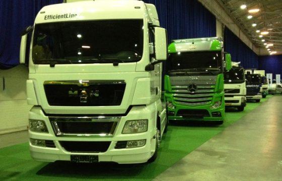 Heel veel duurzame trucks