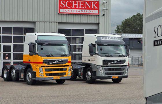 Schenk bestelt 50 Volvo's