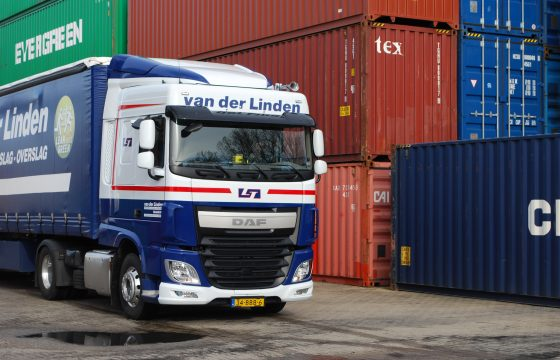 XF in 't rood-wit-blauw