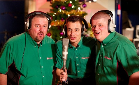 Stobart chauffeurs maken kerstsingle