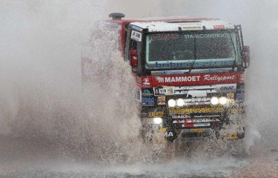 Mammoet Rallysport klaar voor Dakar