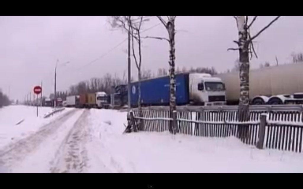 Bizarre file in Rusland