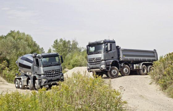 Mercedes lanceert de Arocs