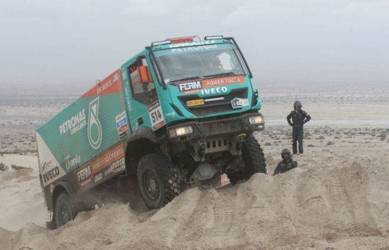 Elfde Dakar-etappe stilgelegd