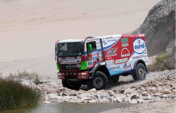 Rust voor Dakarteams