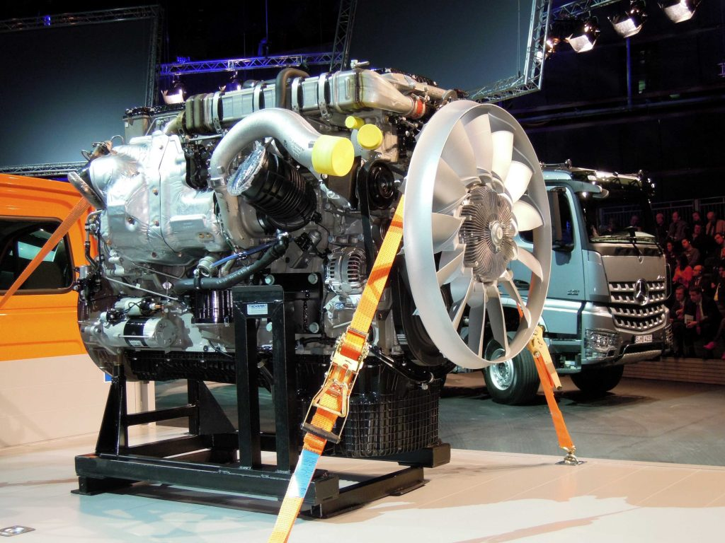 Nieuwe 16 liter Mercedes eind 2013