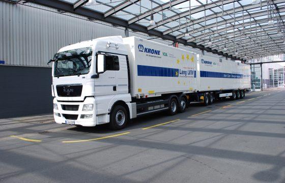 Meer routes voor LZV's in Duitsland