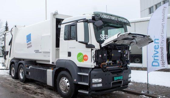 MAN ontwikkelt hybride truck in Helmond