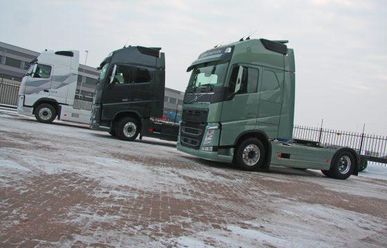 Soepeler sturen met Volvo