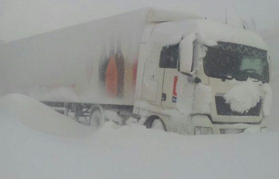 Sneeuwchaos in Frankrijk en België
