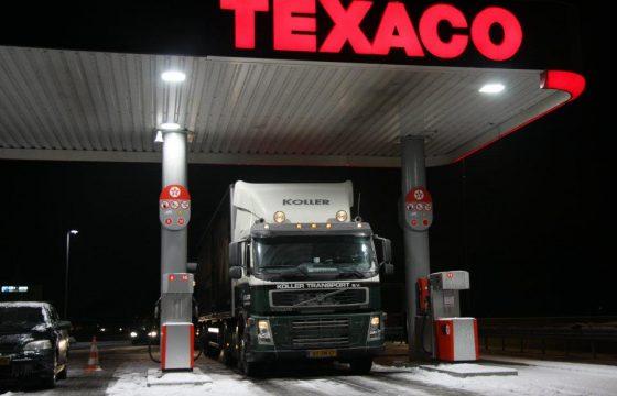 Dieselprijs NL daalt niet