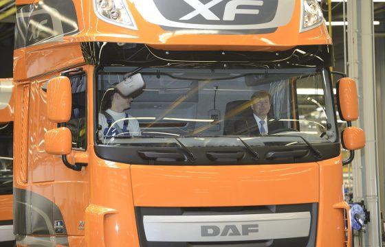 Koninklijke start productie nieuwe XF