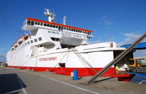 Ferry Oostende-Ramsgate uit vaart