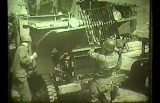 Trucks bouwen in WWII
