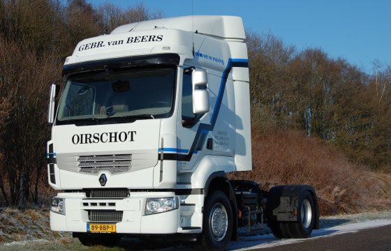 Van Beers kiest voor Renault Premium