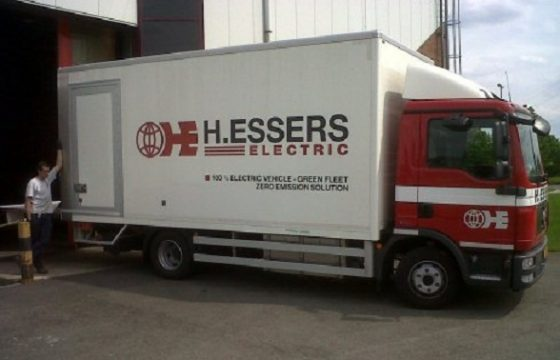 H. Essers kiest voor elektrische truck