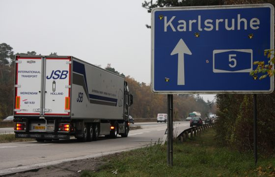 Weer minder NL kilometers autobahn